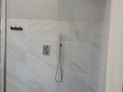 Inloopdouche met Solid Shower plafondstaander