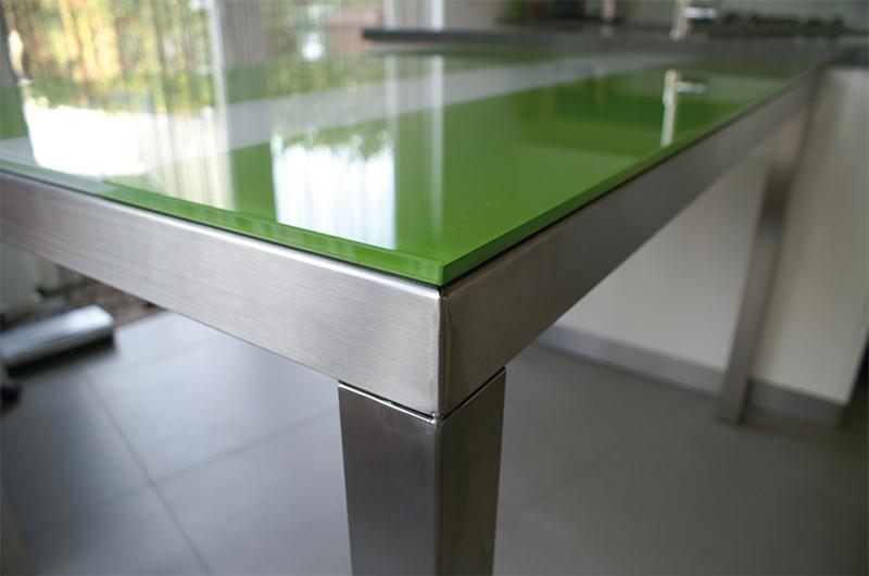 Glazen meubelen op maat gemaakt jongbloed zn - Stoelen voor glazen tafel ...